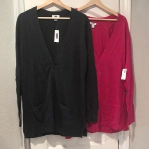 NWT Two cardigan bundle